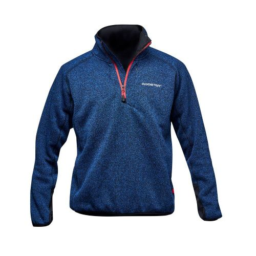 Rooster Technical Sweater Fleece Lined Navy